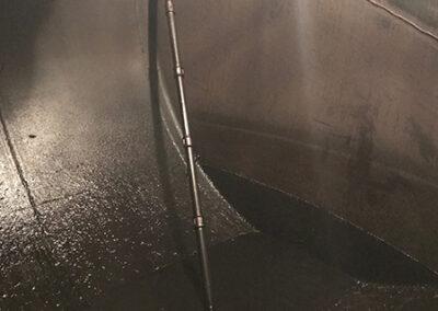 Limpieza tanque combustible líquidos