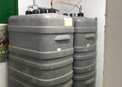 Instalación de almacenamiento en superficie