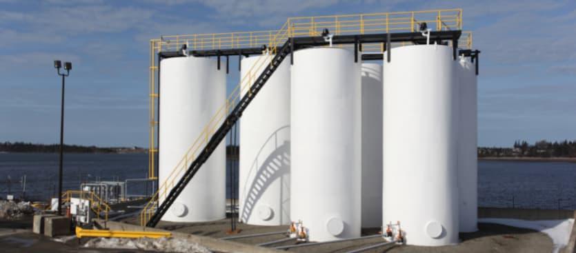 Sensores automáticos de medición de tanques de combustible