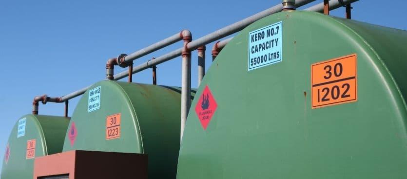 Tipos de tanques de combustible para profesionales y privados